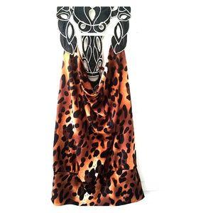 Bongo leopard print tank top